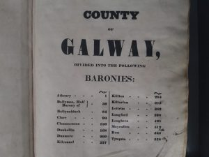 From 1833-1946, you must search by county, barony and then townland, and for urban areas you search by city, civil parish and street.